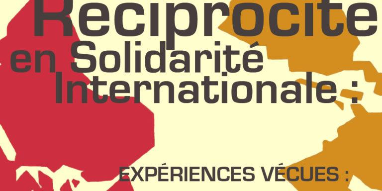 """Invitation au colloque """"réciprocité en solidarité internationale"""" du 9 avril 2016 à Toulouse"""