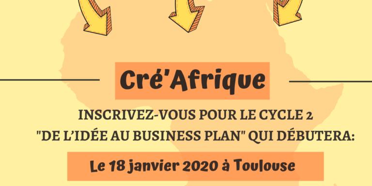 Lancement du cycle 2 Cré'Afrique