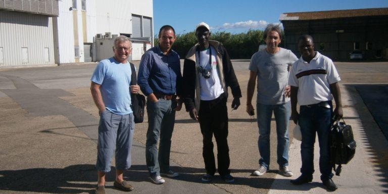 Mission de 4 responsables de l'UCRB (Burkina Faso) en Occitanie : 21 novembre au 2 décembre 2019