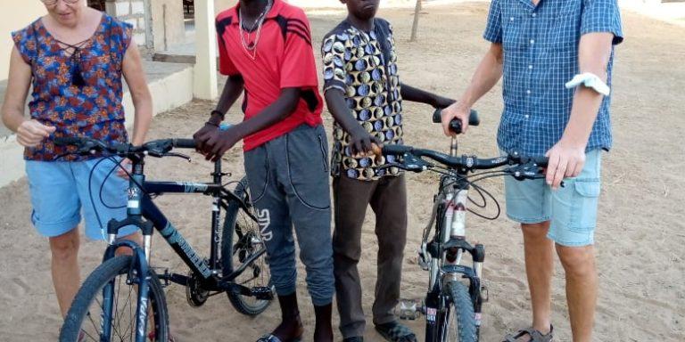 Keur des Métiers : les vélos