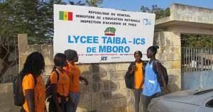 Partenariat avec le lycée de M'Boro Sénégal