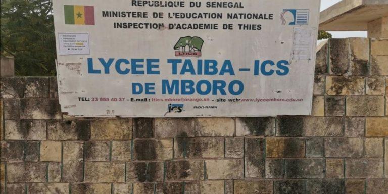 Mobilisation exceptionnelle des anciens élèves du lycée Mboro